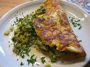 Omelette Mit Gemüse : m hren omelette mit broccoli ~ Lizthompson.info Haus und Dekorationen