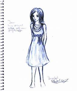 Prom dress sketch by CullenG-LSS on DeviantArt