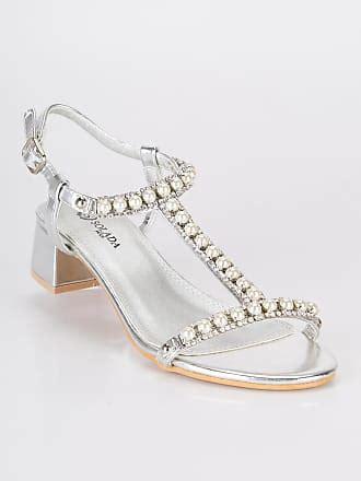 sandalen mit strass und perlen sandaletten shop bis zu bis zu 59 stylight