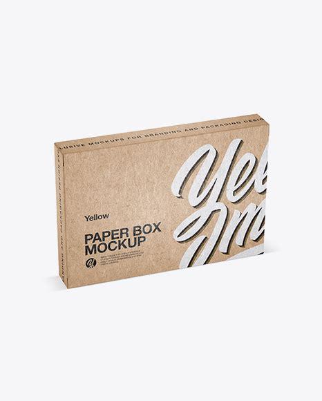Free mockup пакета с фасолью 16 августа 2020, 01:30. Kraft Paper Box Mockup - Half Side View (High-Angle Shot ...