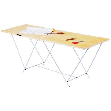 table de tapissier pliante table 224 tapisser pliante ocai 60 cm x 2 m leroy merlin