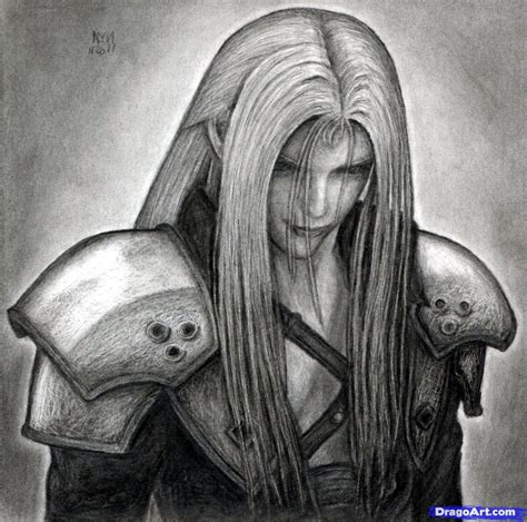 Draw (ドロー, dorō?) is a command ability in final fantasy viii available when a guardian force is junctioned to a character. How to Draw Sephiroth, Final Fantasy VII, Step by Step ...