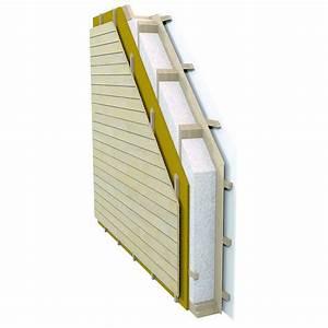 Epaisseur Mur Ossature Bois : panneau ossature bois avec lame d 39 air ext rieure mur ~ Melissatoandfro.com Idées de Décoration