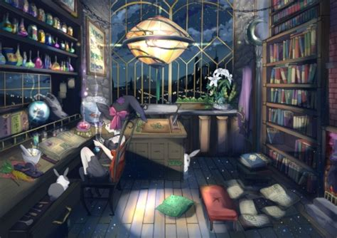 Anime Wallpaper Room - witch room other anime background wallpapers on
