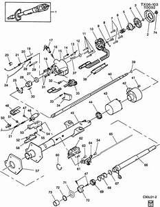 Gmc Safari Steering Column