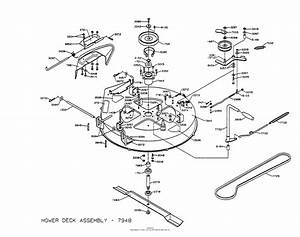 Dixon Ztr 3303  1997  Parts Diagram For Mower Deck Assembly
