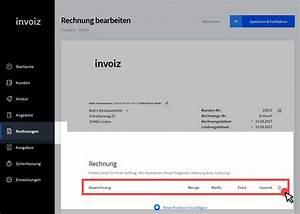 Rechnung Symbol : freiberufler rechnungen mit invoiz schreiben ~ Themetempest.com Abrechnung