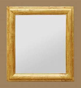 Miroir Doré Ancien : miroir bois dor patin ~ Teatrodelosmanantiales.com Idées de Décoration