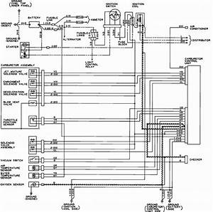 Fuel System Diagram  Include Fuel Pump  For 1986 Dodge Ram