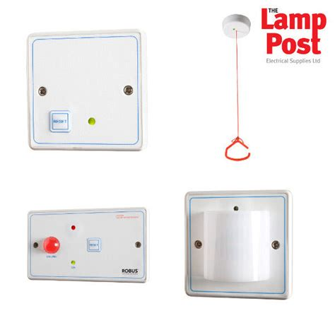 robus rdpta 01 disabled vulnerable persons toilet alarm bathroom alarm kit 5391370012270 ebay