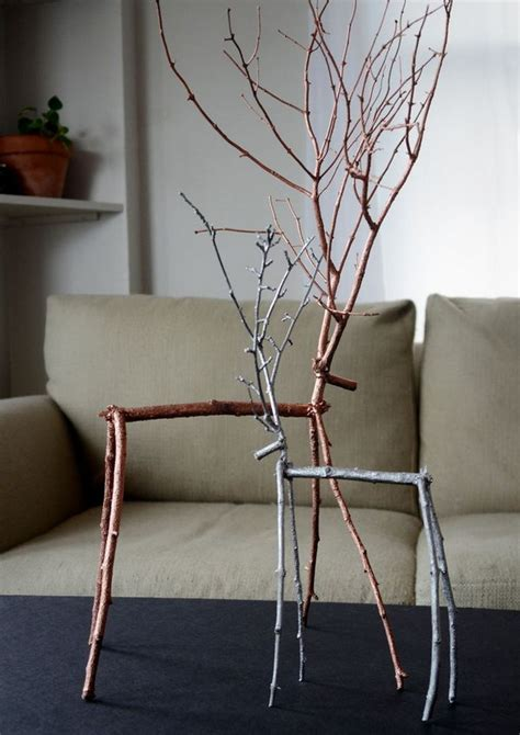 diy ideas  twigs  tree branches