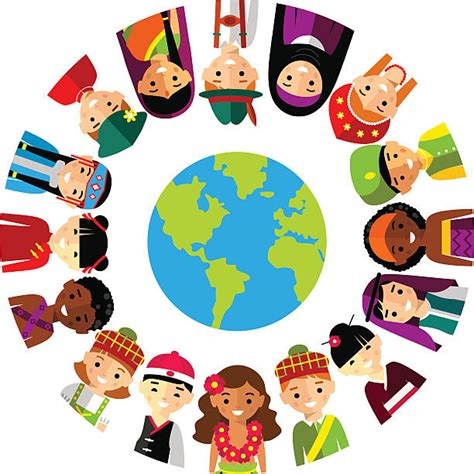 Culture Clipart Culture Clipart Multicultural Pencil And In Color