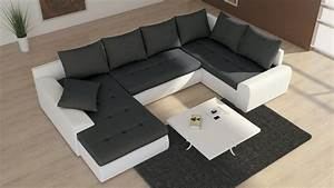 U Form Sofa : couchgarnitur schlafsofa polsterecke sofagarnitur sofa future 2 als u form wohnlandschaft ~ Buech-reservation.com Haus und Dekorationen