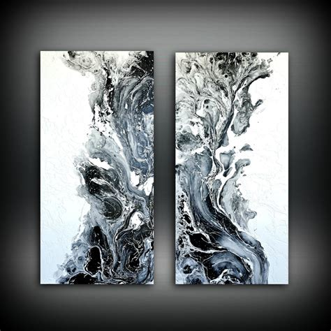 37 black canvas paintings ranked in order of popularity and relevancy. Abstract Art Original Painting Acrylic Painting Abstract Painting, Black and White Wall Hanging ...