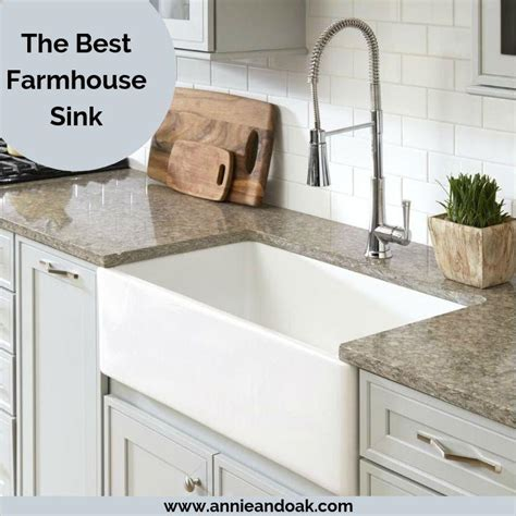 farmhouse sink  pick material guide  review