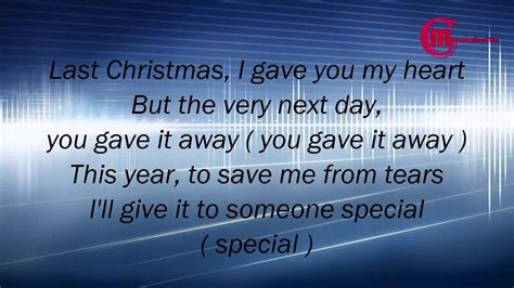 wham lyrics wham last christmas lyrics by monash creation