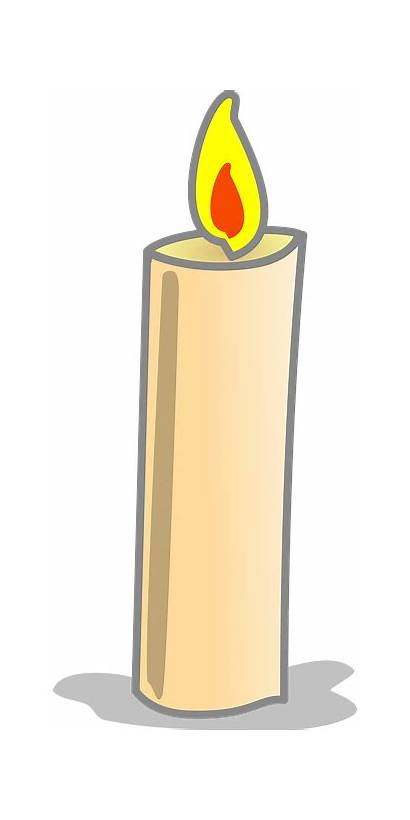 Candle Clipart Candles Simple Flame Svg Votive