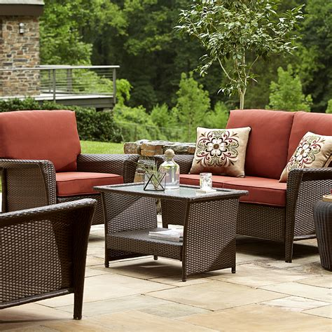 outdoor furniture 300 ty pennington style parkside seating set in sears