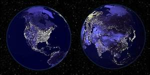 NASA Earth Night Lights (page 2) - Pics about space