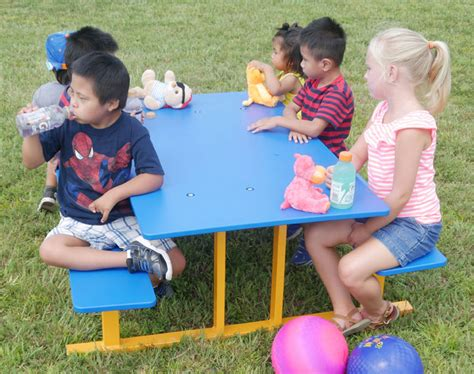 preschool picnic table infinity playgrounds 447 | IP 7038 picnic table 2