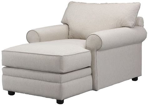 klaussner comfy casual chaise lounge olinde s furniture