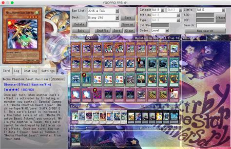 mecha phantom beast deck 2017 true draco awakening to 0 pojo forums