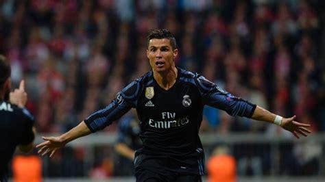 cristiano ronaldo reaches  european goals  real