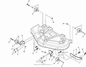 Snapper Zt20500bv  5091001  50 U0026quot  20 Hp Ztr Fastcut Series 0 Parts Diagram For 50 U0026quot  Mower Deck