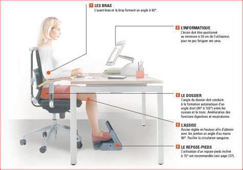 position ergonomique au bureau position ergonomique bureau 28 images position bureau