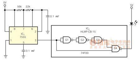 the constitution circuit diagram of portable rapid pulse generator other circuit