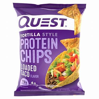 Chips Quest Protein Tortilla Nutrition Taco Bag