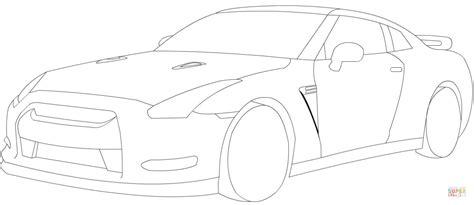Gtr Kleurplaat by Nissan Gtr Coloring Page Free Printable Coloring Pages