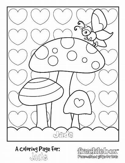 Coloring Pages Kind Personalized Introduction Jade Kiddo