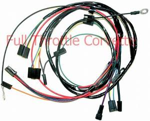 1966 Corvette A  C Air Conditioning Wiring Harness New