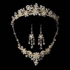 wedding ring necklace gold swarovski bridal jewelry set and tiara sparkling wedding jewelry ebay