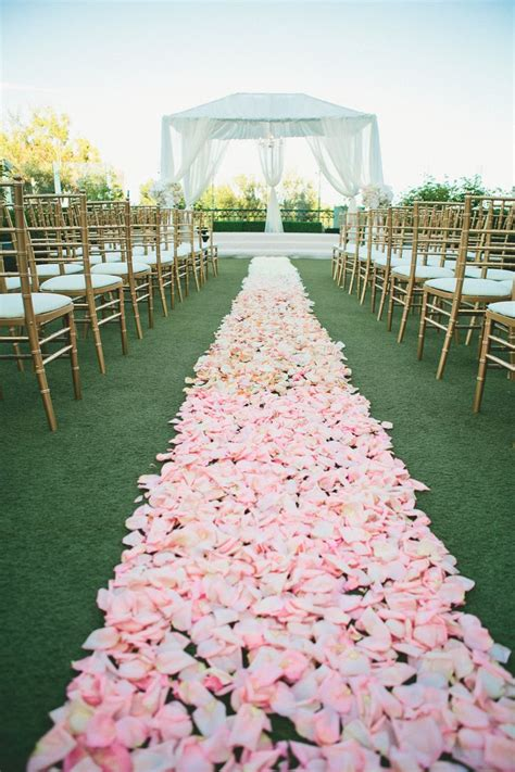 Best 25 Rose Petal Aisle Ideas On Pinterest Flower