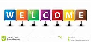 Colorful Box Welcome Text Photo - Images, Photos, Pictures