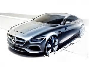 mercedes design mercedes s class coupe preview design sketches car design