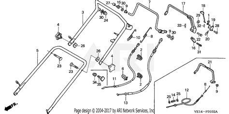 Honda Hrbk Hxa Lawn Mower Usa Vin Mzba
