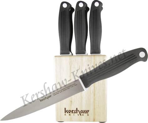 kershaw kitchen knives set kershaw steak knife set 9922 7