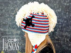 Skull And Crossbones Punk Hat With Mohawk Pdf Crochet