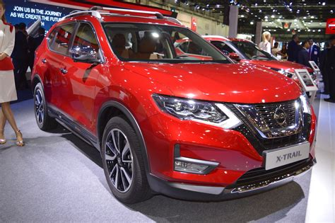2018 Nissan X-trail Showcased At The 2017 Dubai Motor Show