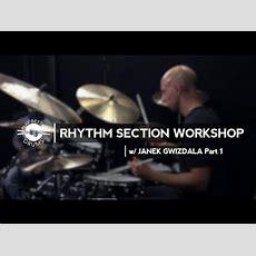 Louie Palmer & Janek Gwizdala  Play Better Drums Rhythm Section Workshop Youtube