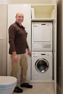 Waschmaschine In Küche : einbauschrank waschmaschine trockner harald maier ~ Watch28wear.com Haus und Dekorationen