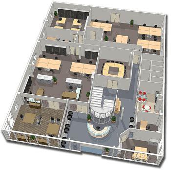 plan des bureaux cloison bureau