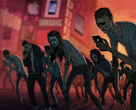zombies phone cell hazards reduce fast