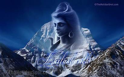 Kailash Shiva Lord Mount Wallpapers Shivratri Mountain