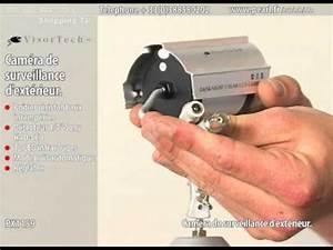 Comment Installer Camera De Surveillance Exterieur : cam ra de surveillance d 39 ext rieur youtube ~ Premium-room.com Idées de Décoration