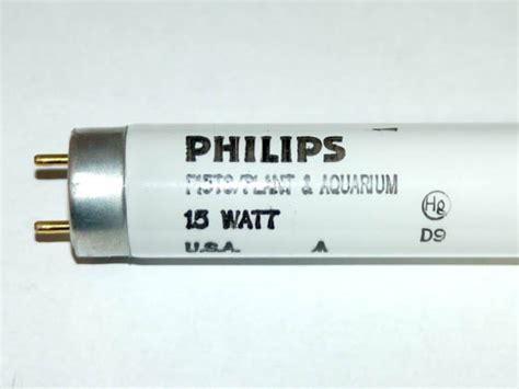 philips 15 watt 18 inch t8 plant grow fluorescent bulb