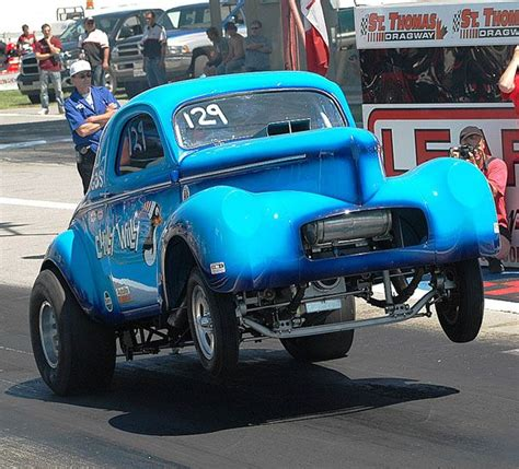 gasser drag car gallery drag car wheelies  willys